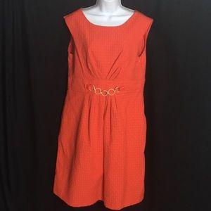 Kim Rogers sz 14 Red Dress